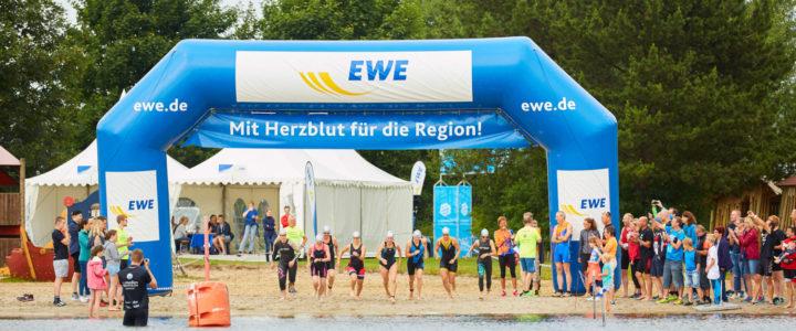 Löwen beim Grotegaste-Triathlon 8.-9. Juli 2017