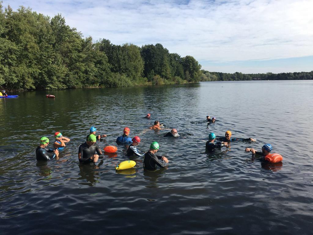10km-Schwimmen